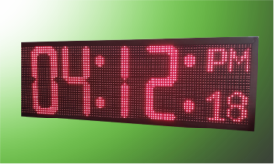 Cronometro digital led grande