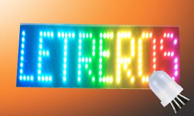 Letrero pixel led ws2811