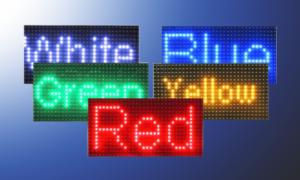 Modulo Led P10 un Solo Color