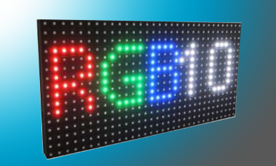 Modulo matriz led P10 RGB