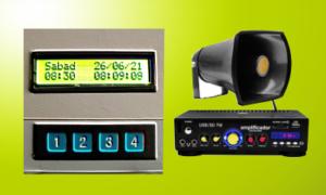 Timbre Automático con audio